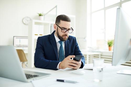 une application mobile pour le travail