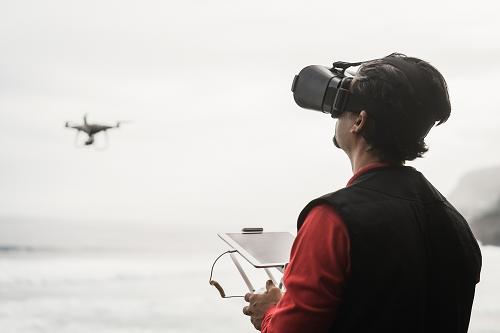 Pilote de drone à Marseille